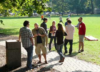 photo: department picnic 2009